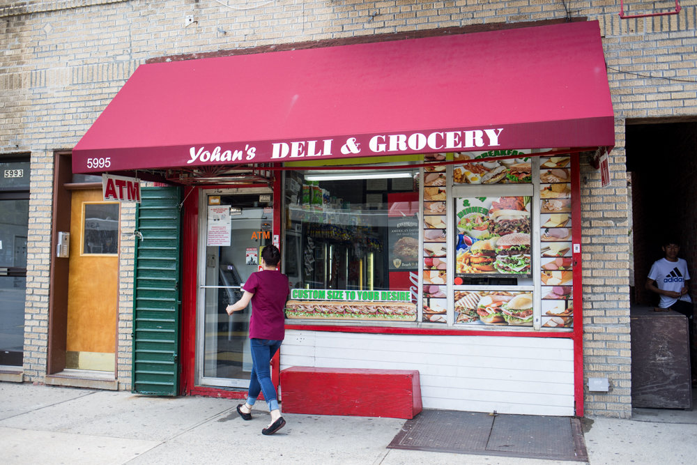 Yohan's Deli & Grocery is one of many immigrant-owned businesses in the northwest Bronx, a vast majority of which feel overburdened by their commercial rent, according to a new study. Another 70 percent operate without a lease.