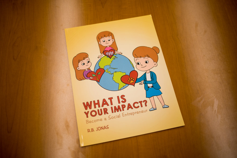'What Is Your Impact? Become a Social Entrepreneur' is a children's book by Ryan Jonas, a junior at Horace Mann. A self-described social entrepreneur, Jonas seeks to educate kids about starting their own businesses while addressing other problems like poverty and environmental destruction.