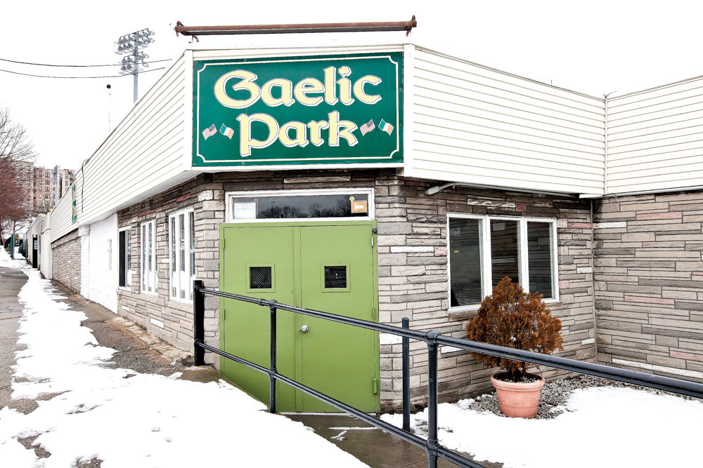 Gaelic Park has been heralded as a home away from home for the Irish diaspora, and its network of buildings — including the old banquet hall — are due to be reconstructed thanks to funding from the Irish foreign affairs department and the parent organization of the New York Gaelic Athletic Organization. The buildings were demolished last month.