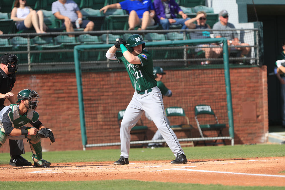 Manhattan freshman outfielder Nick Cimillo has been finding success all season for the Jaspers, leading the team in a slew of offensive categories including batting average and home runs.