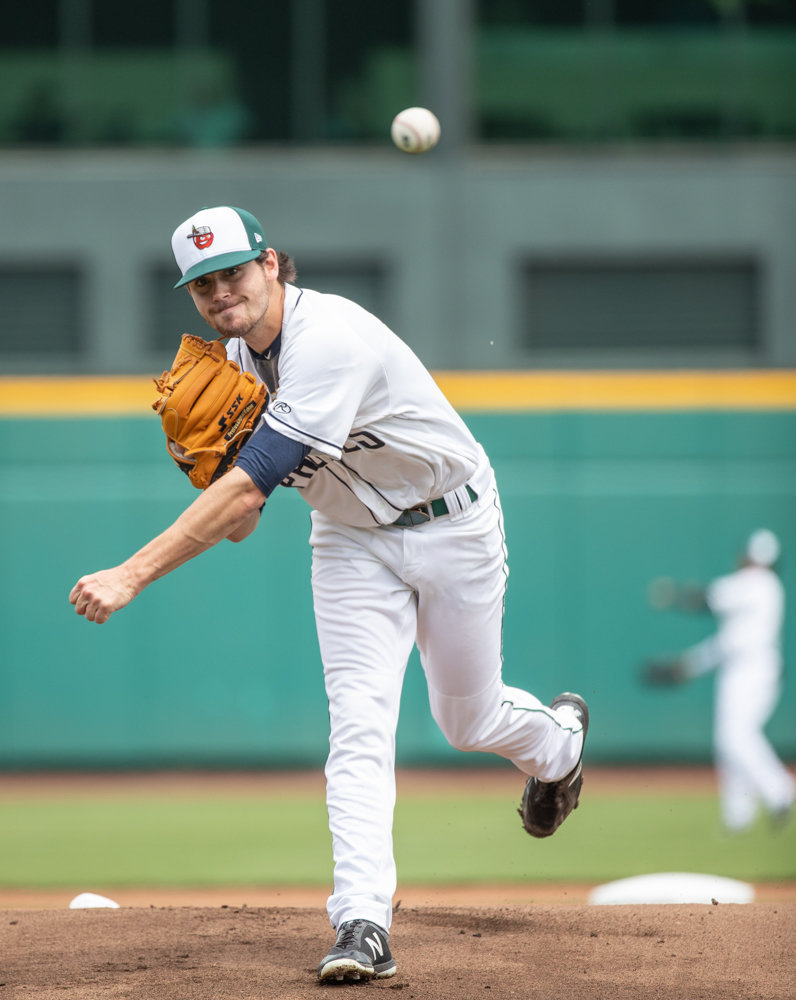 Tom Cosgrove, the former Manhattan College ace who was drafted by the San Diego Padres in 2017, has struck out 17 batters in 18 innings this season.