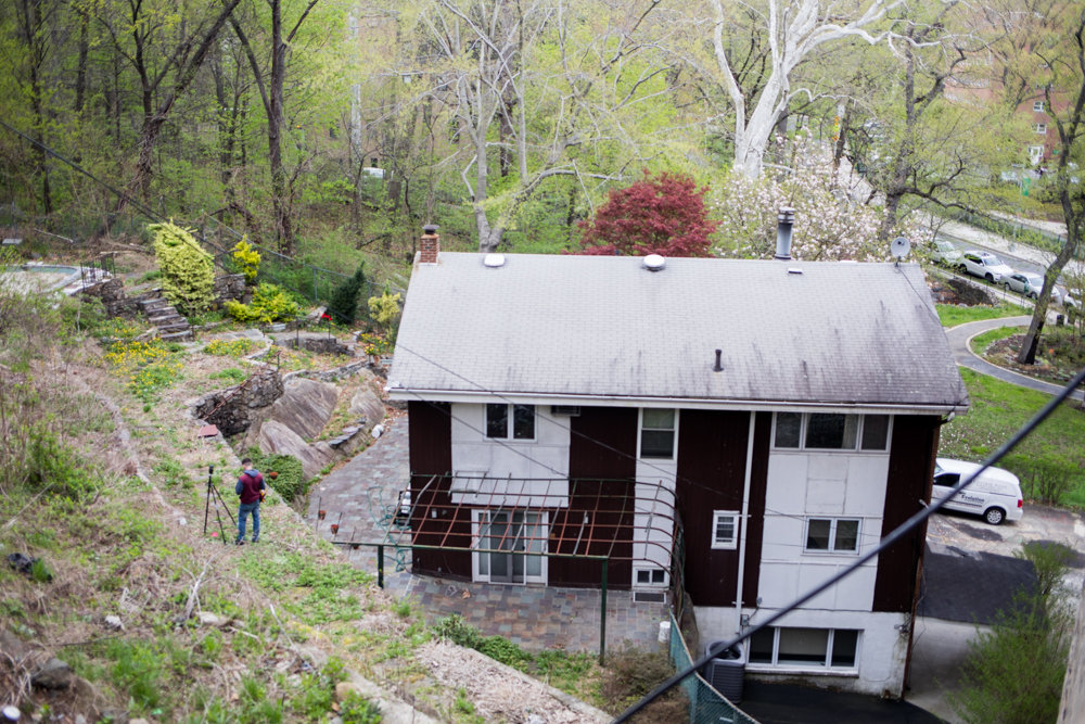 A house bordering Brust Park is in new hands, and that has some people, especially those who volunteer in the park, deeply concerned. One of the people behind the purchase and partial demolition of the Villa Rosa Bonheur purchased the property at 3893 Waldo Ave.