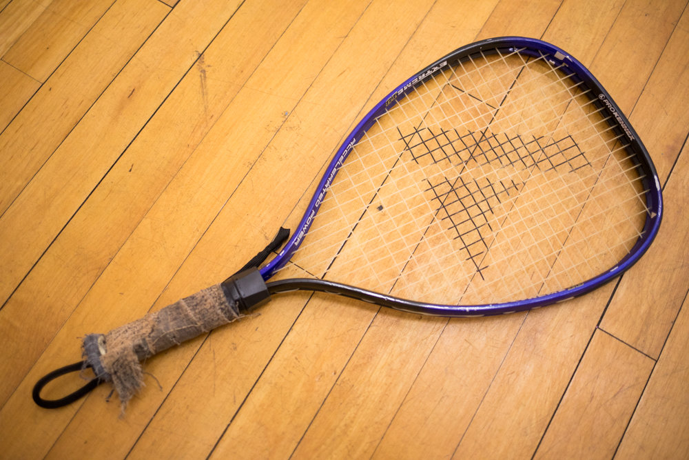 The Riverdale Y will eventually have no need for rackets after it converts the room dedicated to racquetball into a multipurpose space. The Y faces a $250,000 shortfall, and the racquetball court has not been brought in much money.