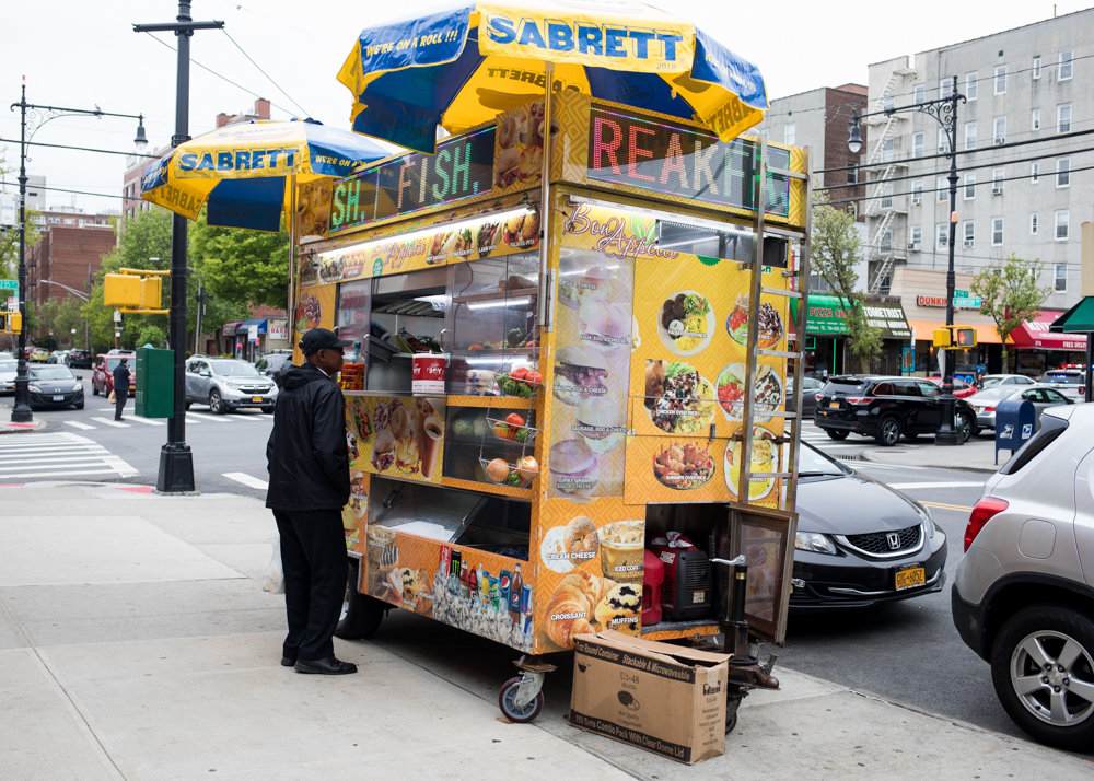 The food cart on Johnson Avenue is a culinary haven for some and a community blight for others. Its detractors feel that brick-and-mortar business will suffer, due in part to high rents they pay. Yet, food cart operators say they are not immune to hefty fees themselves.
