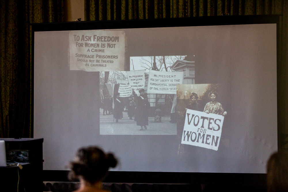 Archival photographs show the fight for women's right to vote a century ago during 'Women's Suffrage and New York City: A Centennial Celebration,' an exhibit at Wave Hill.