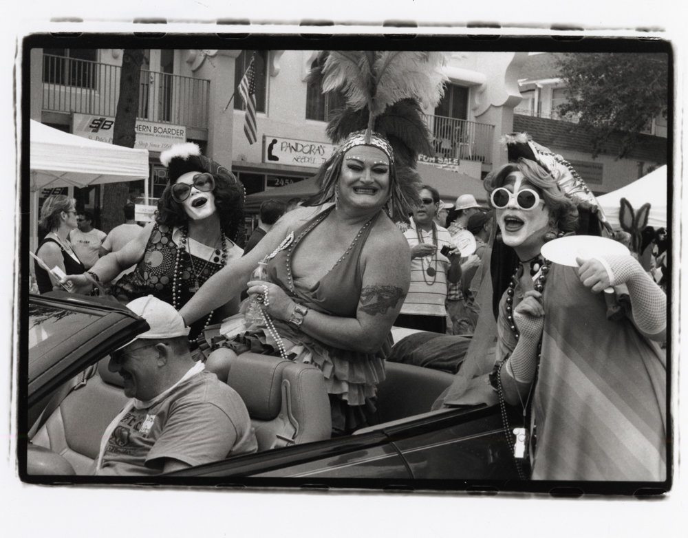 Over the course of six decades, Herb Snitzer has photographed all walks of life, including the St. Pete Pride parade in St. Petersburg, Florida, in 2008.