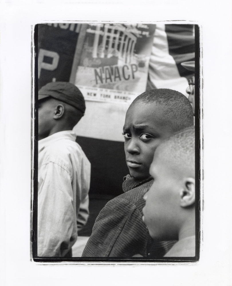 Herb Snitzer photographed an NAACP rally in 1958.
