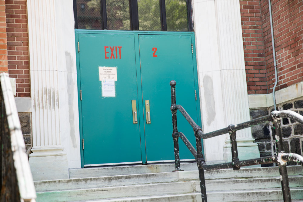 Parents of students at P.S. 81 have been petitioning of building modifications that would better protect students and staff in the event of a school shooting, including security cameras next to all exterior doors.
