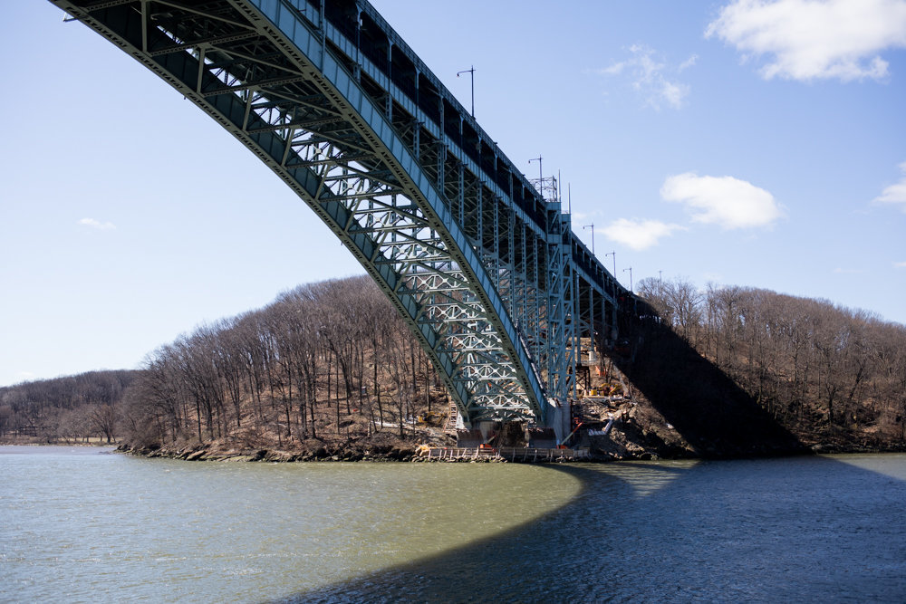 The ongoing Henry Hudson Bridge project continues with lower level overnight lane closures and detours throughout June.