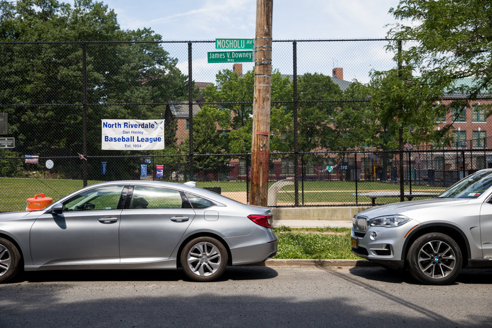 Bike lanes could come to Mosholu Avenue between West 254th and West 256th streets, according to the city's transportation department. DOT tells Community Board 8 that such lanes are a potential remedy to concerns about speeding on the avenue.
