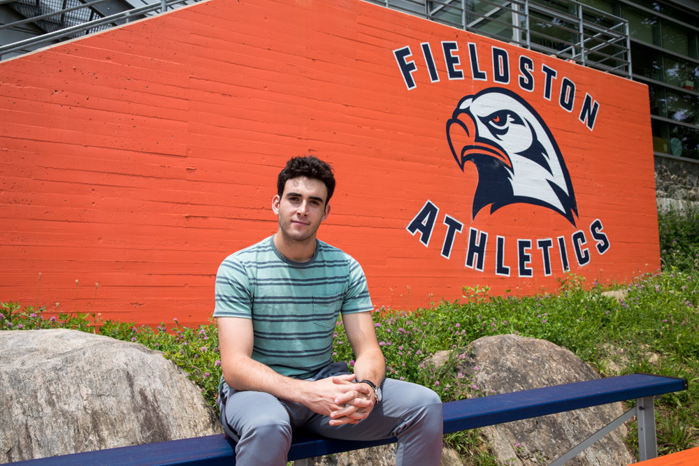 Asher Raduns-Silverstein has called Fieldston his educational home for the past 14 years. But now the former Eagle will head south a bit to attend Penn in the fall.