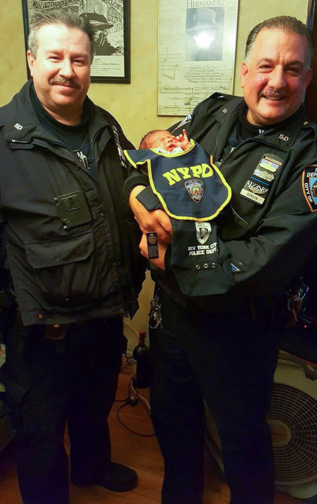 Officer Kevin Preiss, left, joined the New York Police Department in 1995, and spent most of his time in the 50th Precinct, where he had a number of valiant moments, including saving the life of a Manhattan College security guard in 2016 and helping deliver a baby earlier this year. Preiss reportedly died by suicide last month.