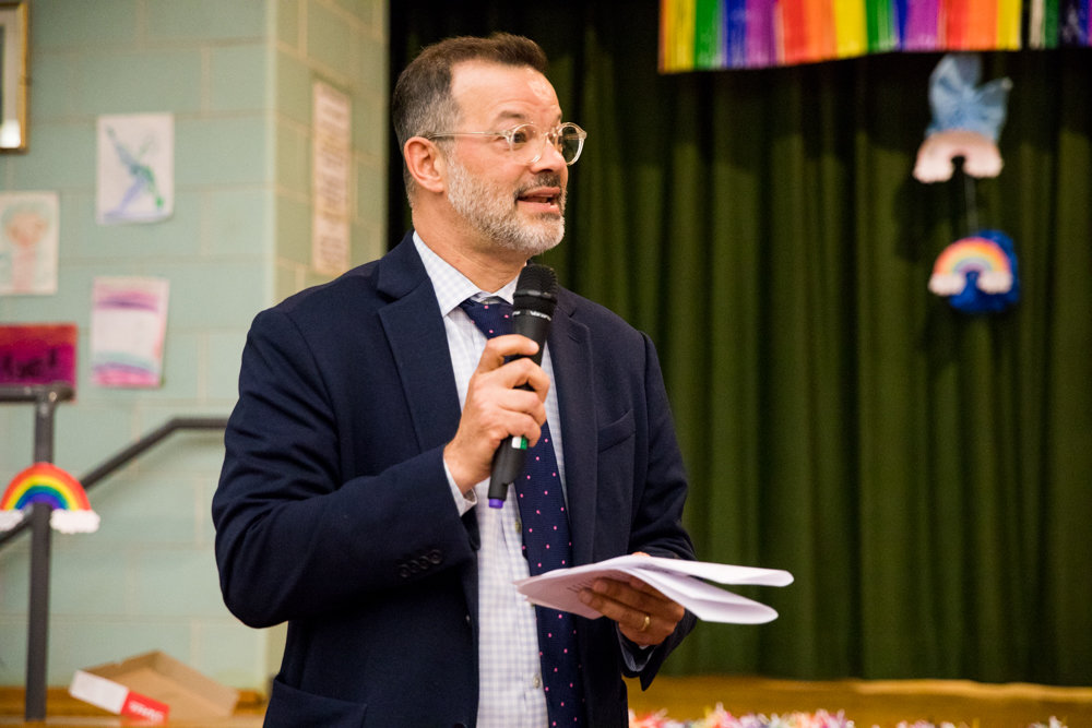 Councilman Andrew Cohen apologized for what he described as confusion over his views on the proposed changes to the Special Natural Area District during a June 27 Community Board 8 meeting.