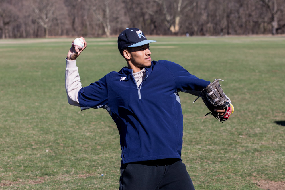 Riverdale/Kingsbridge Academy's Ulysses Luciano was not only a force for the Tigers in games this past season, but he also helped lead the search for coveted practice space in Van Cortlandt Park.