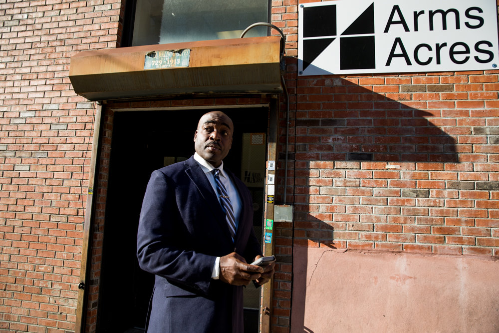 John Saunders works as the clinical director of the Jerome Avenue location of Arms Acres, a network of outpatient treatment centers for substance abusers. Despite the overall drop from opioid overdose deaths in the city, such deaths are up in the Bronx — as much as 8 percent, according to the city's health department.