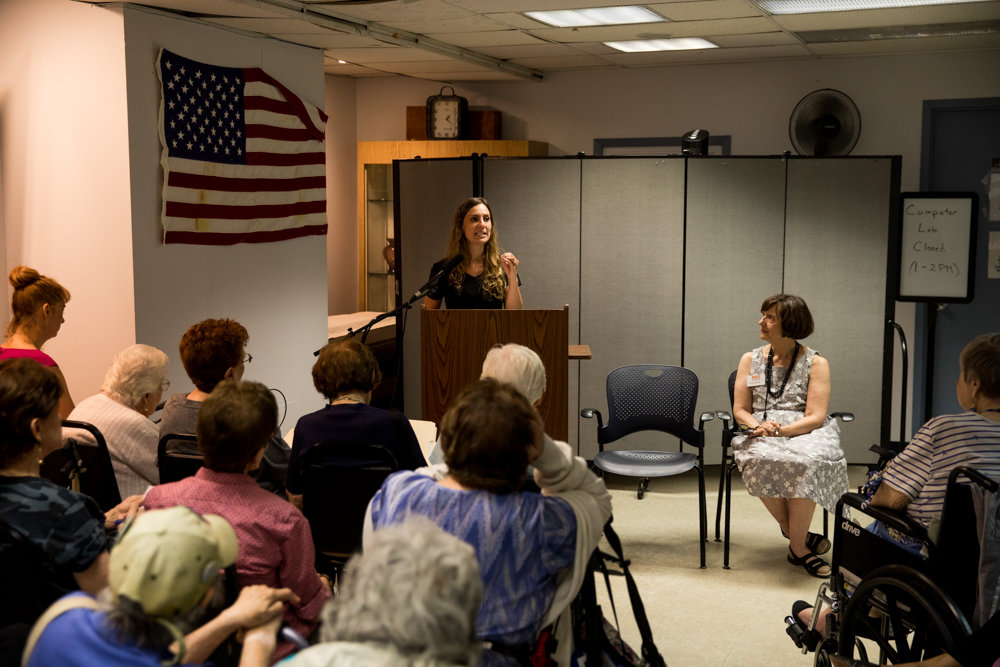 RSS-Riverdale Senior Services is a critical resource for many senior citizens in and around Riverdale, and is a venue where their voices can be heard, like in this information session with state Sen. Alessandra Biaggi. The senior center is celebrating its 45th anniversary this year.
