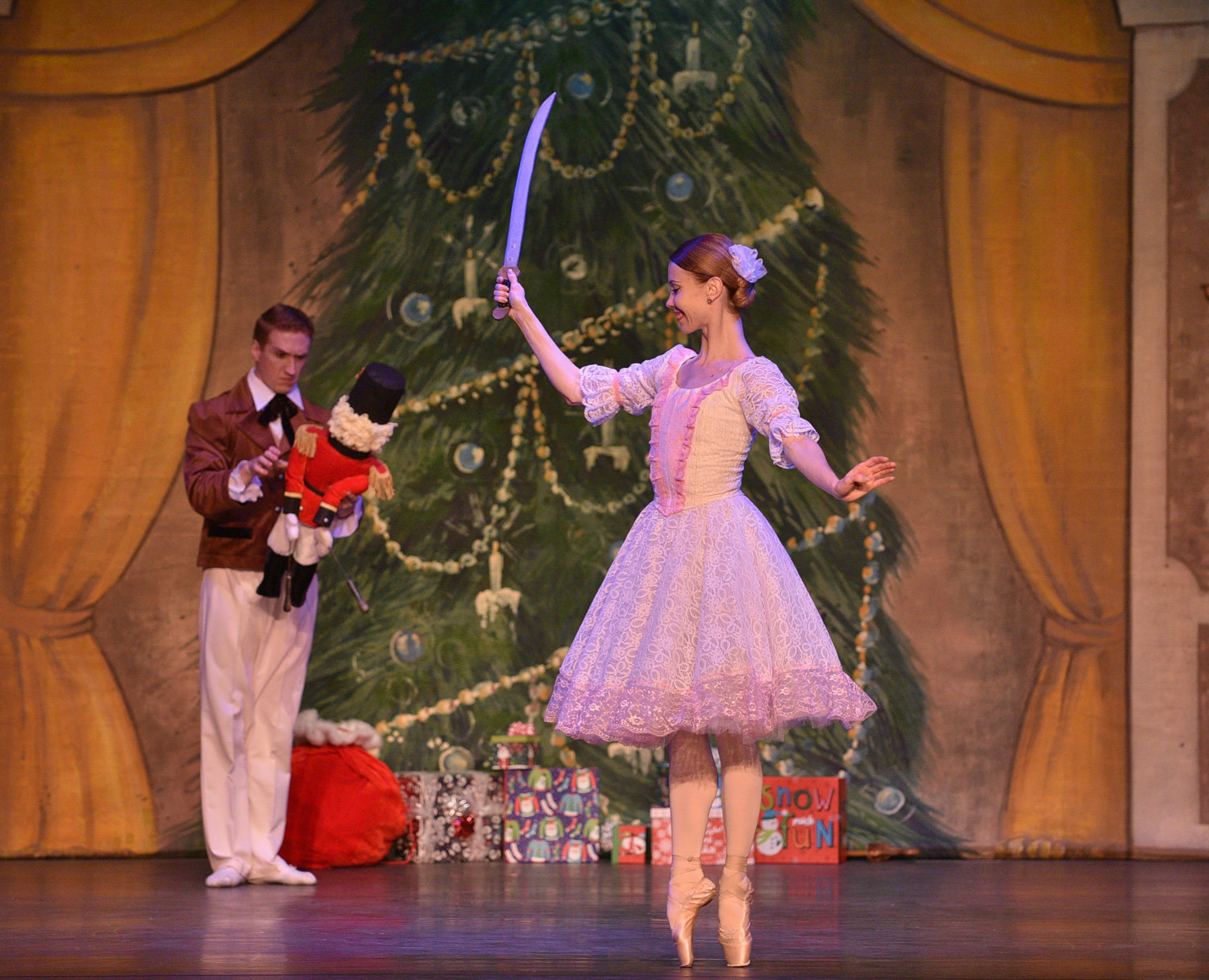 The National Ballet Theater of Odessa will bring 'The Nutcracker' to life at the Lehman Center for the Performing Arts on Dec. 1.