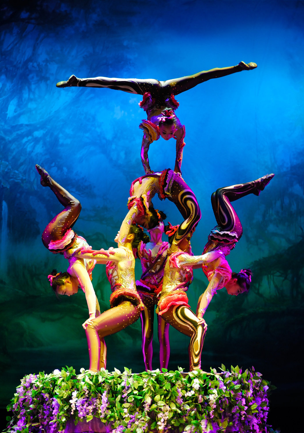 It's all color and contortion with Chinese circus act 'Cirque Mei,' which comes to the Lehman Center for the Performing Arts on Oct. 13.