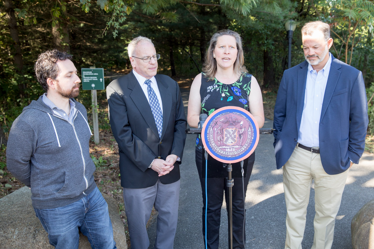 Christina Taylor, director of programs and operations at Van Cortlandt Park Alliance, is thrilled the $23.5 million needed to build a pedestrian bridge over the Major Deegan Expressway has been secured.