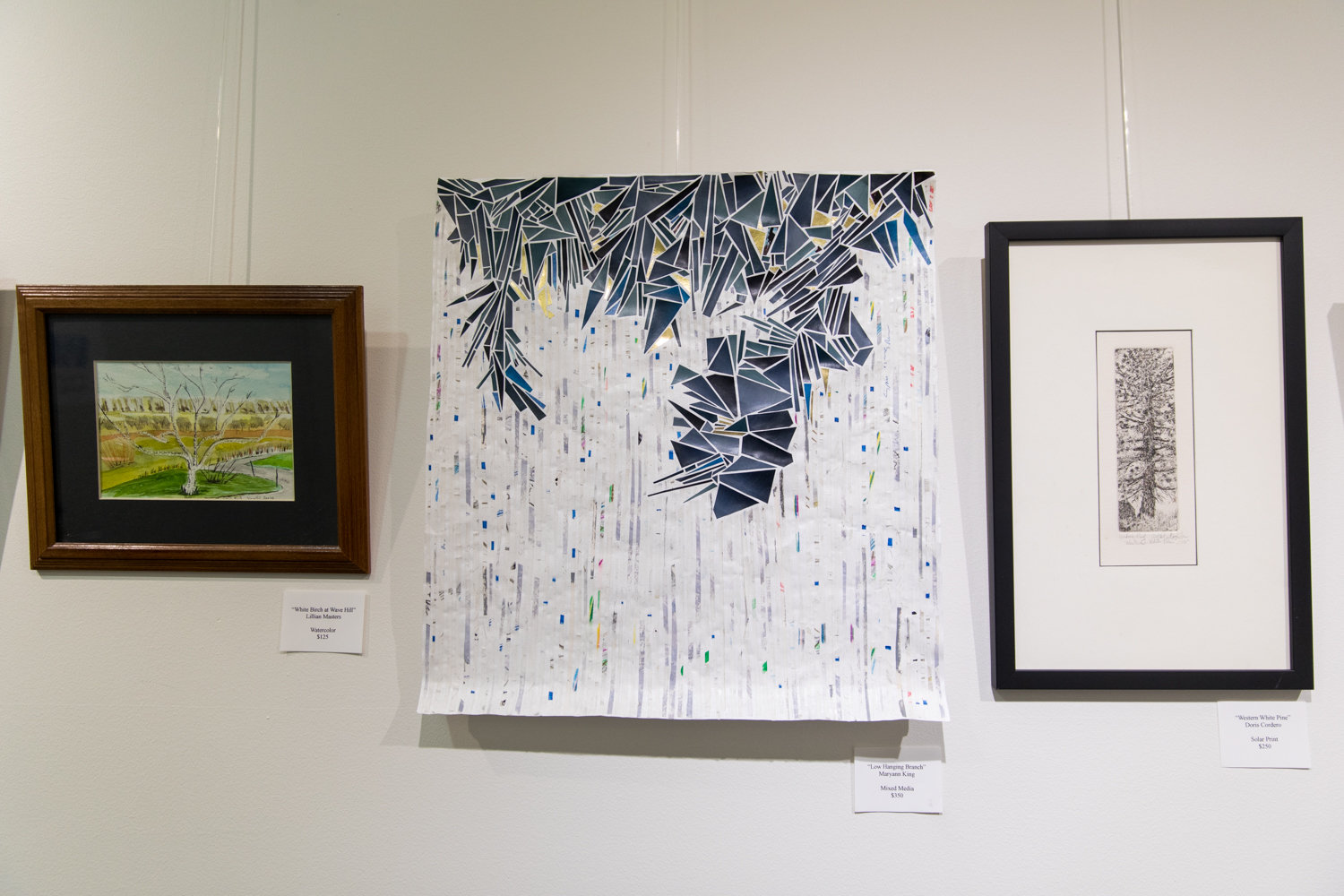 Members of the Riverdale Art Association have different painting styles, all of which are featured in 'Tree Time,' a new exhibition at The Riverdale Y.