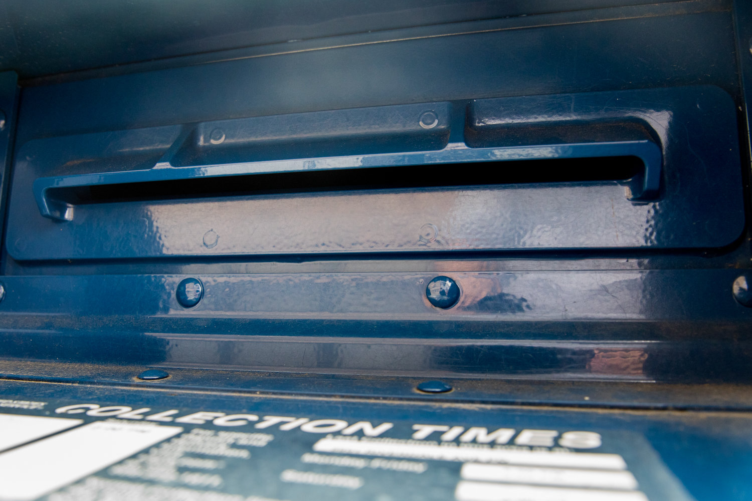The introduction of the slot to U.S. Postal Service mailboxes has helped to thwart would-be thieves, but checks still go missing from mailboxes.