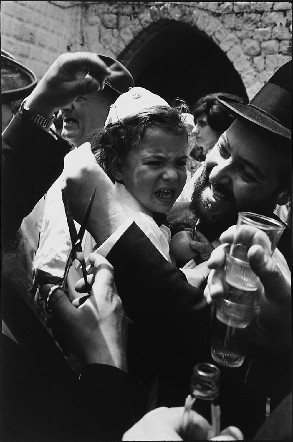 Leonard Freed's 1967 photograph of the Jewish holiday Lag B'omer is included in the exhibition 'Leonard Freed: Israel Magazine 1967-1968,' on display at the Hebrew Home at Riverdale's Derfner Judaica Museum through Jan. 5.