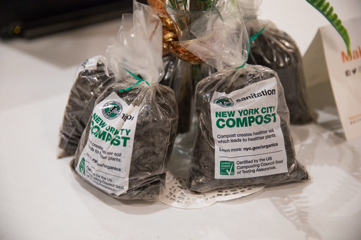 The sanitation department wants the city to 'make compost, not trash,' in order to put food waste to good use.