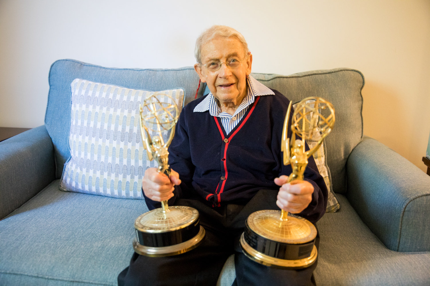 Harry Miller could not have anticipated winning Emmys for his scenic design work in soap operas, but he won back-to-back honors in 1984 and 1985.