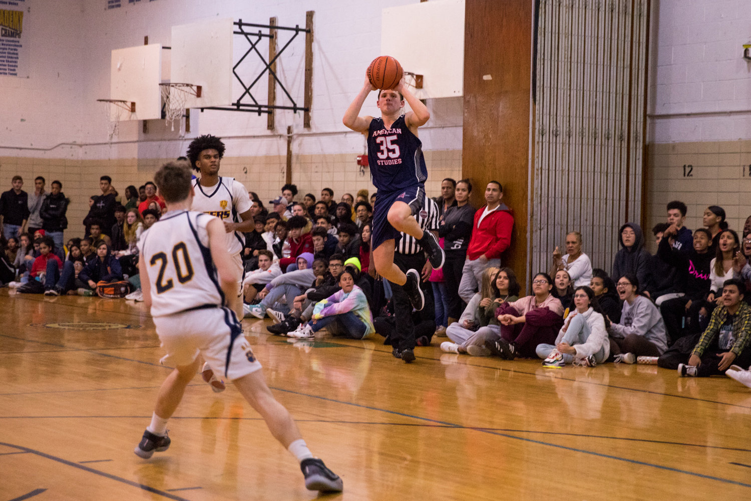 American Studies' sharpshooter Troy McLean finished with 37 points, but it wasn't enough to carry the Senators, who dropped a three-point decision to Riverdale/Kingsbridge Academy last week.