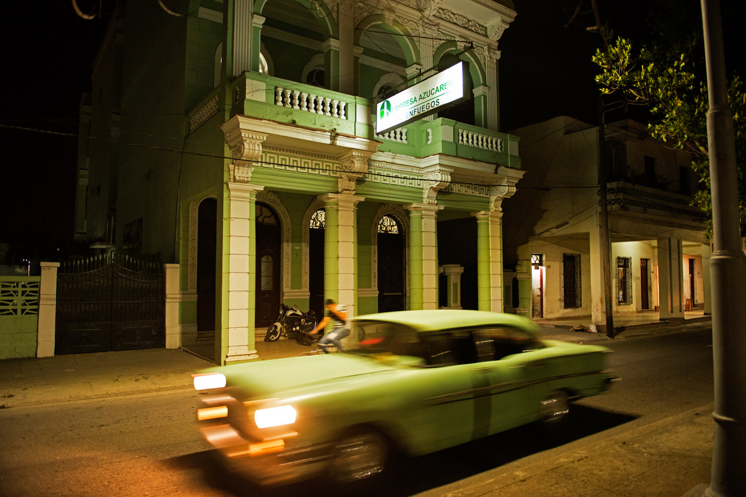 John Conn's late-night image of a street scene in Cuba is included in the exhibition 'Picture This,' on display at Elisa Contemporary Art through Jan. 15.
