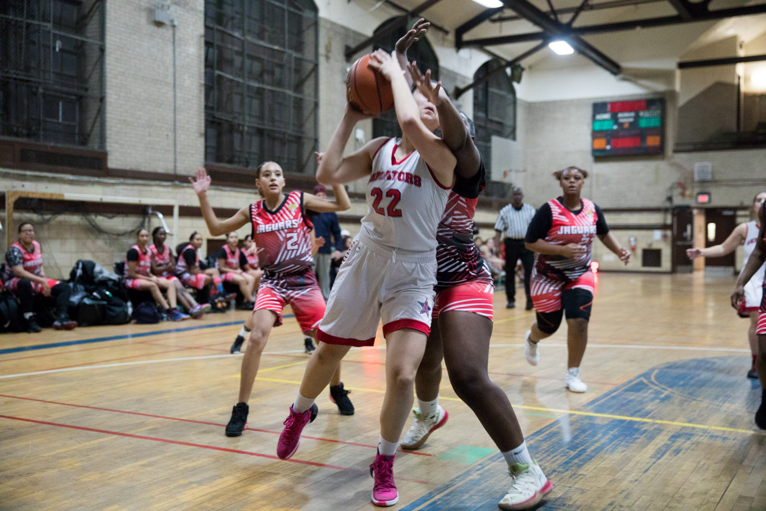 Emily Eljamal scored 14 points and hauled down a dozen rebounds in American Studies' 34-27 victory over Jane Addams last week to open the season 2-0.