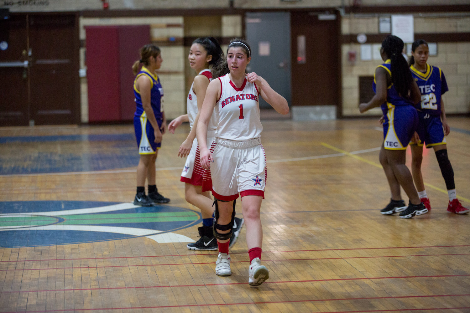 American Studies senior Jackie Harari makes her triumphant return to the basketball court with a 14-point performance over Taft.