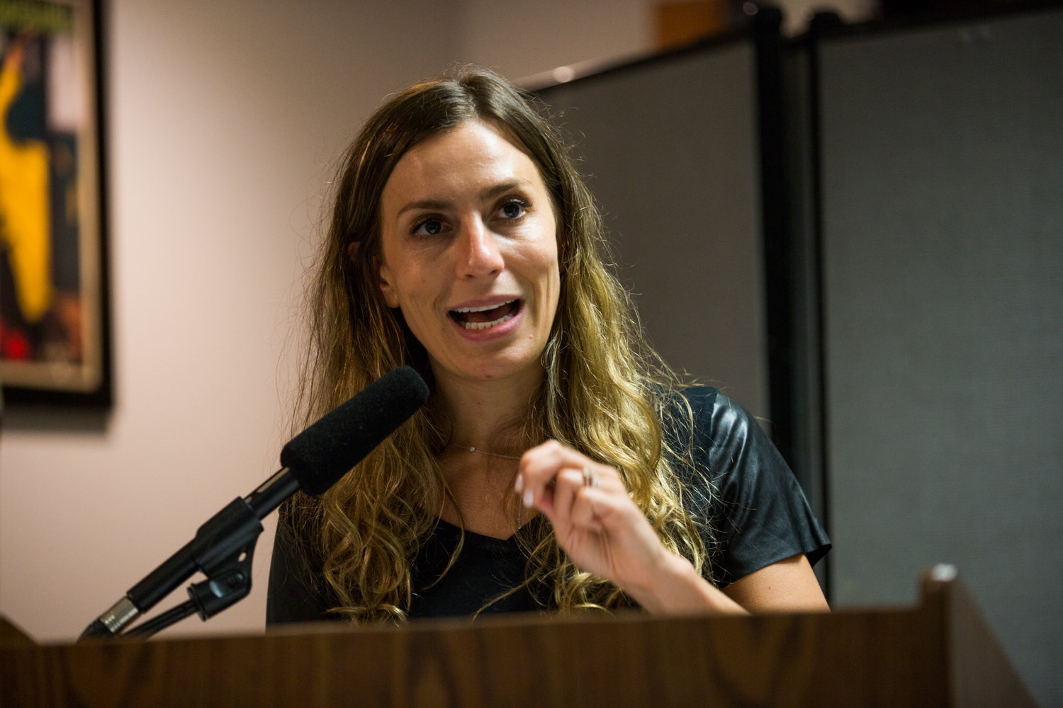 State Sen. Alessandra Biaggi heralded the elimination of cash bail for low-level crimes, misdemeanors and non-violent felonies because she believes it will make the criminal justice system fairer.