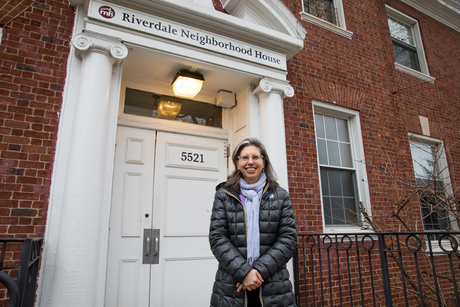 Riverdale Neighborhood House board member Amanda Salzhauer has marveled at how different members of RNH's staff have helped to fill the gap while the organization searches for a new executive director.