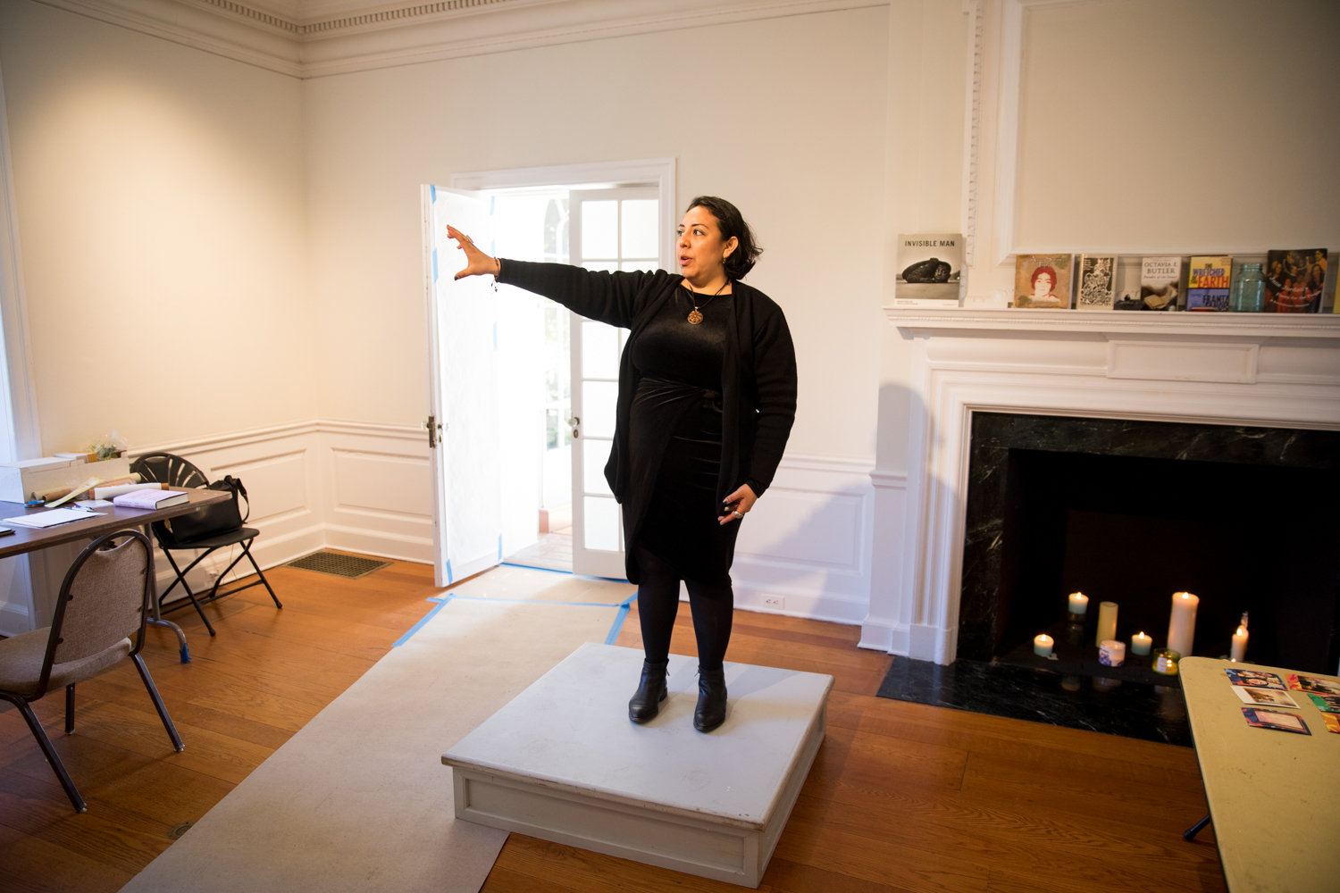 Stephanie Alvarado talks about her melding of photo archiving and choreo-poetry for her Winter Workspace residency at Wave Hill.