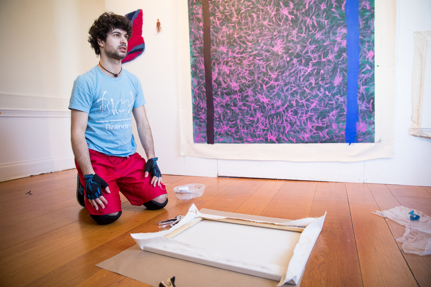 Ezra Benus talks about how medication serves as a jumping off point for the art he is creating as part of his Winter Workspace residency at Wave Hill.