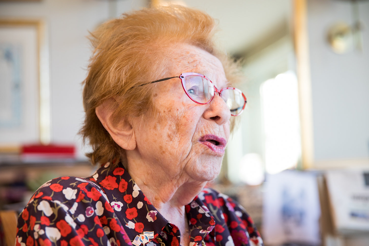Dr. Ruth K. Westheimer talks about her life and work, and how she is raising money for a new psychology scholarship at American Associates Ben-Gurion University of the Negev in Israel, which will also award her this May with an honorary doctorate.