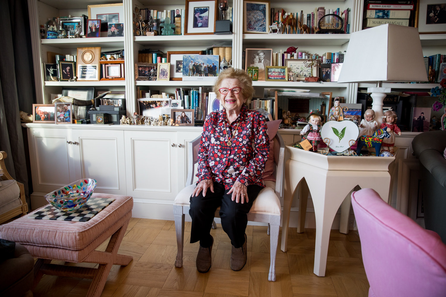 Dr. Ruth K. Westheimer has had a long life and career, but at 91, she has no intention of stopping, or even slowing down. American Associates Ben-Gurion University of the Negev in Israel will award the famed sex therapist an honorary doctorate in May, and unveil a new scholarship she is endowing in her name.