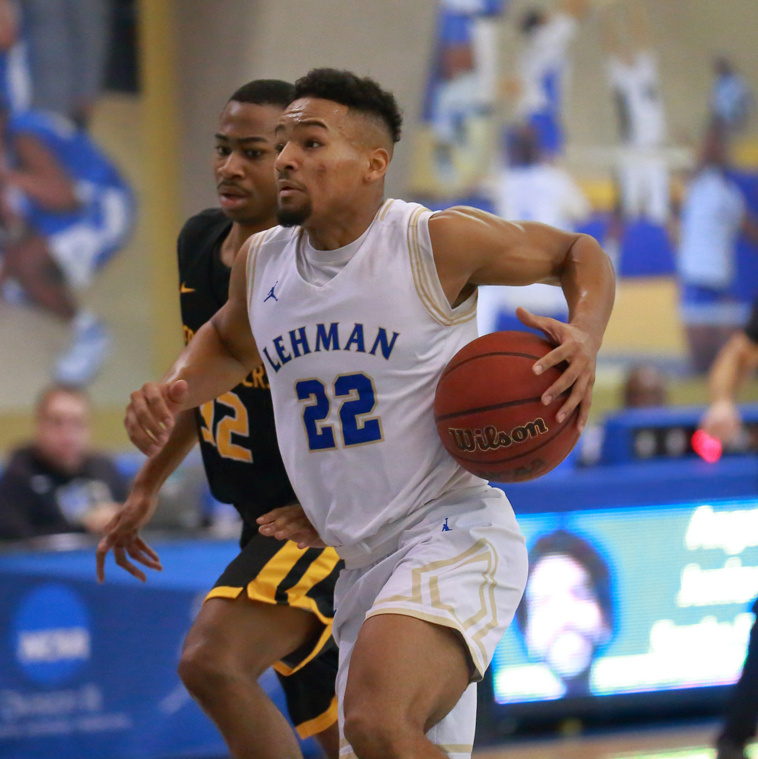 Lehman senior Tommy Batista had a stat-stuffing day in the Lightning's win over Medgar Evers with eight points, three rebounds, three steals and three assists.