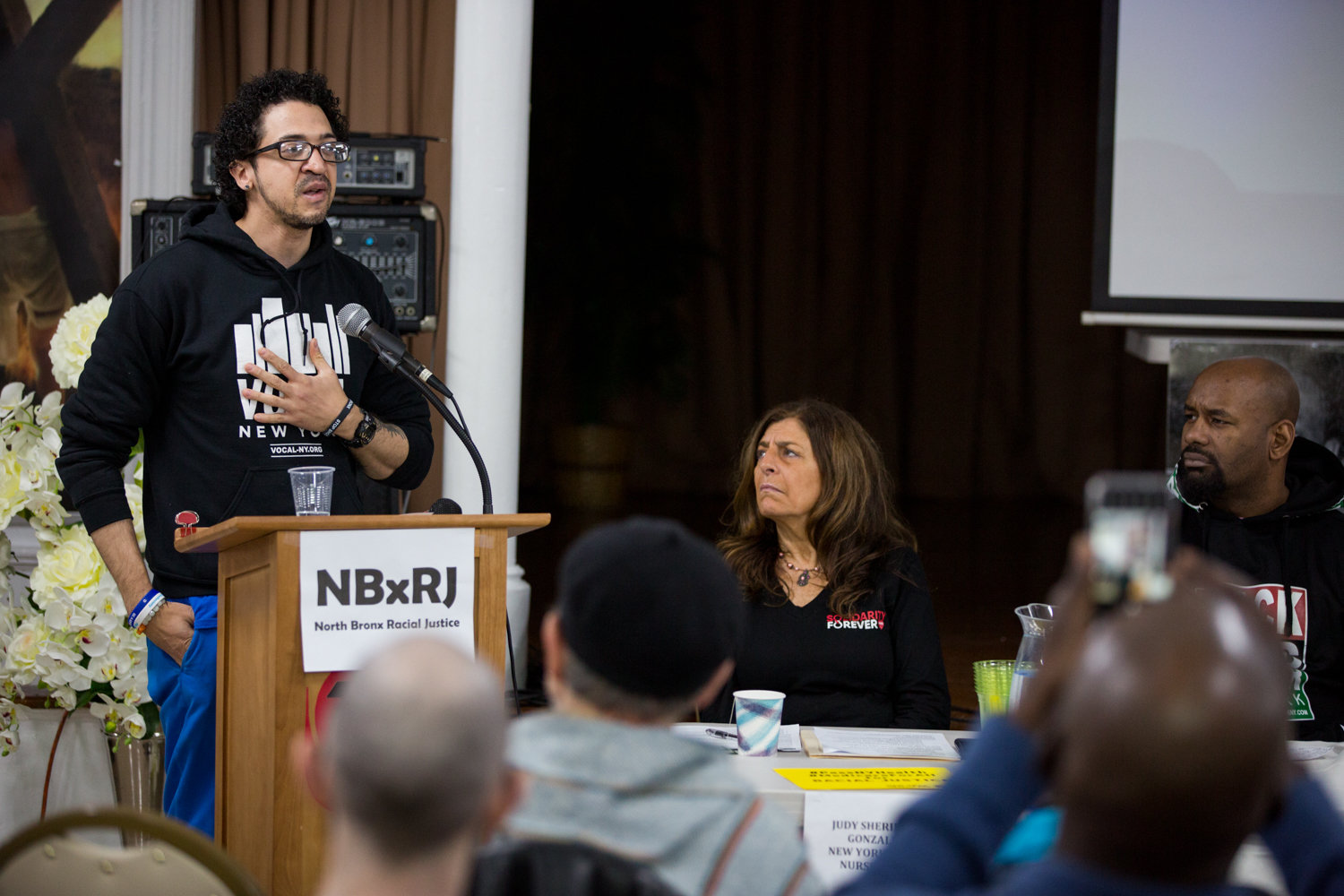 VOCAL-NY member Felix Guzman talks about his experience as a formerly incarcerated on Rikers Island and how that has shaped his view on the need form reform in how mental health is treated.