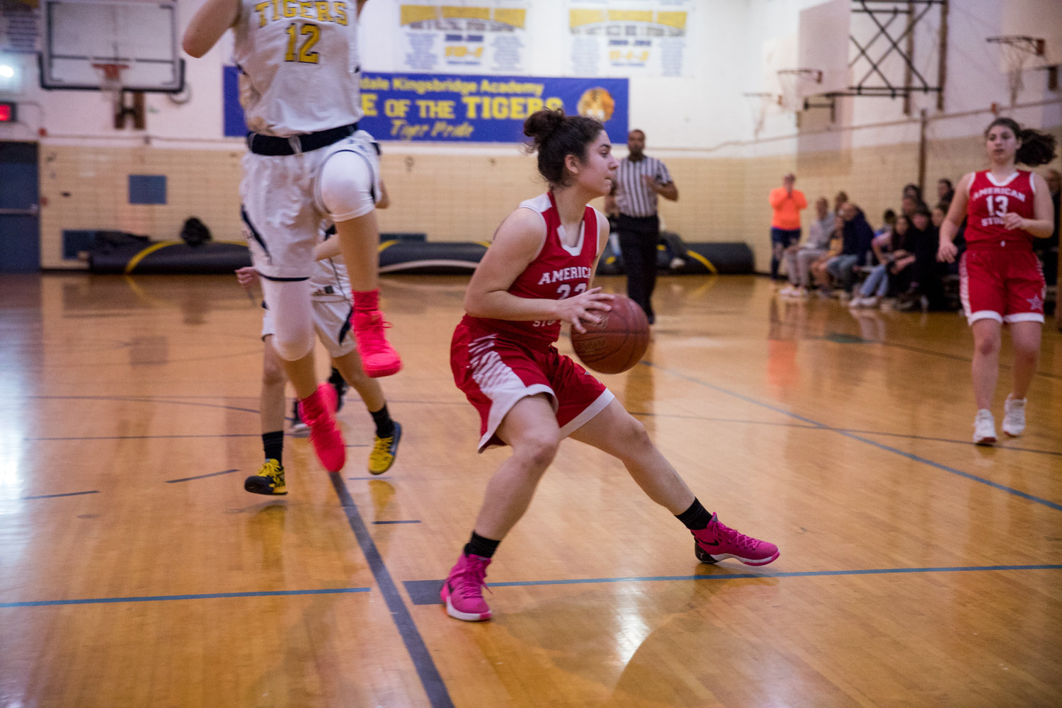 American Studies' senior Emily Eljamal scored a combined 26 points in wins over RKA and Tuitt last week.