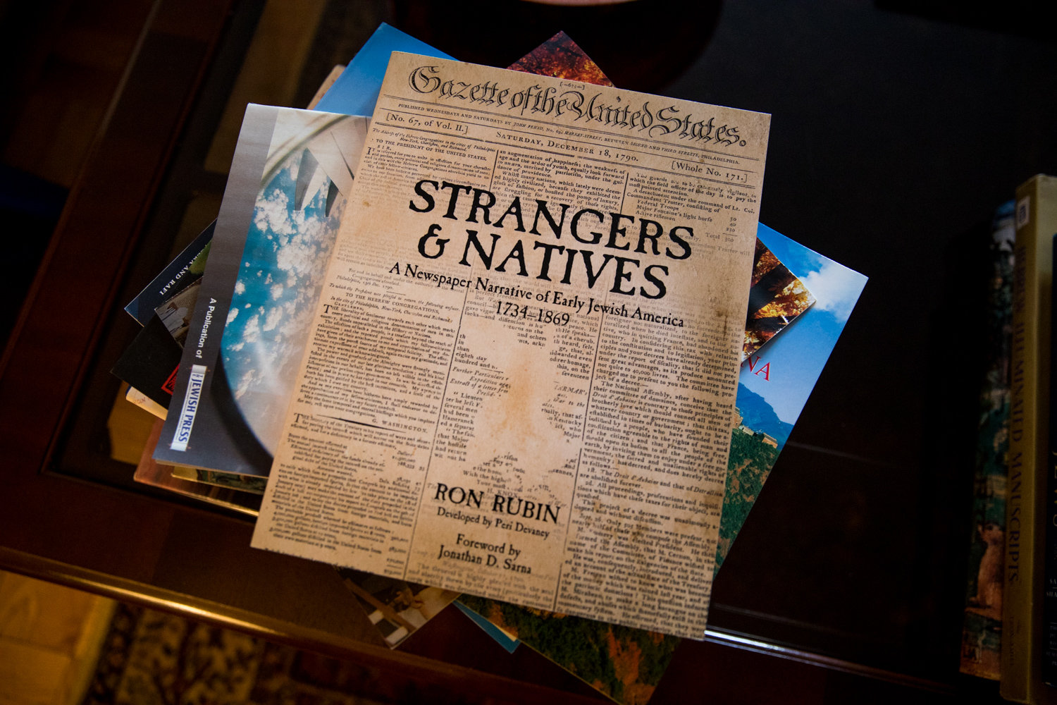 Ron Rubin's historical book 'Strangers & Natives' takes a look at early Jewish life in the United States based on reports from old newspapers.