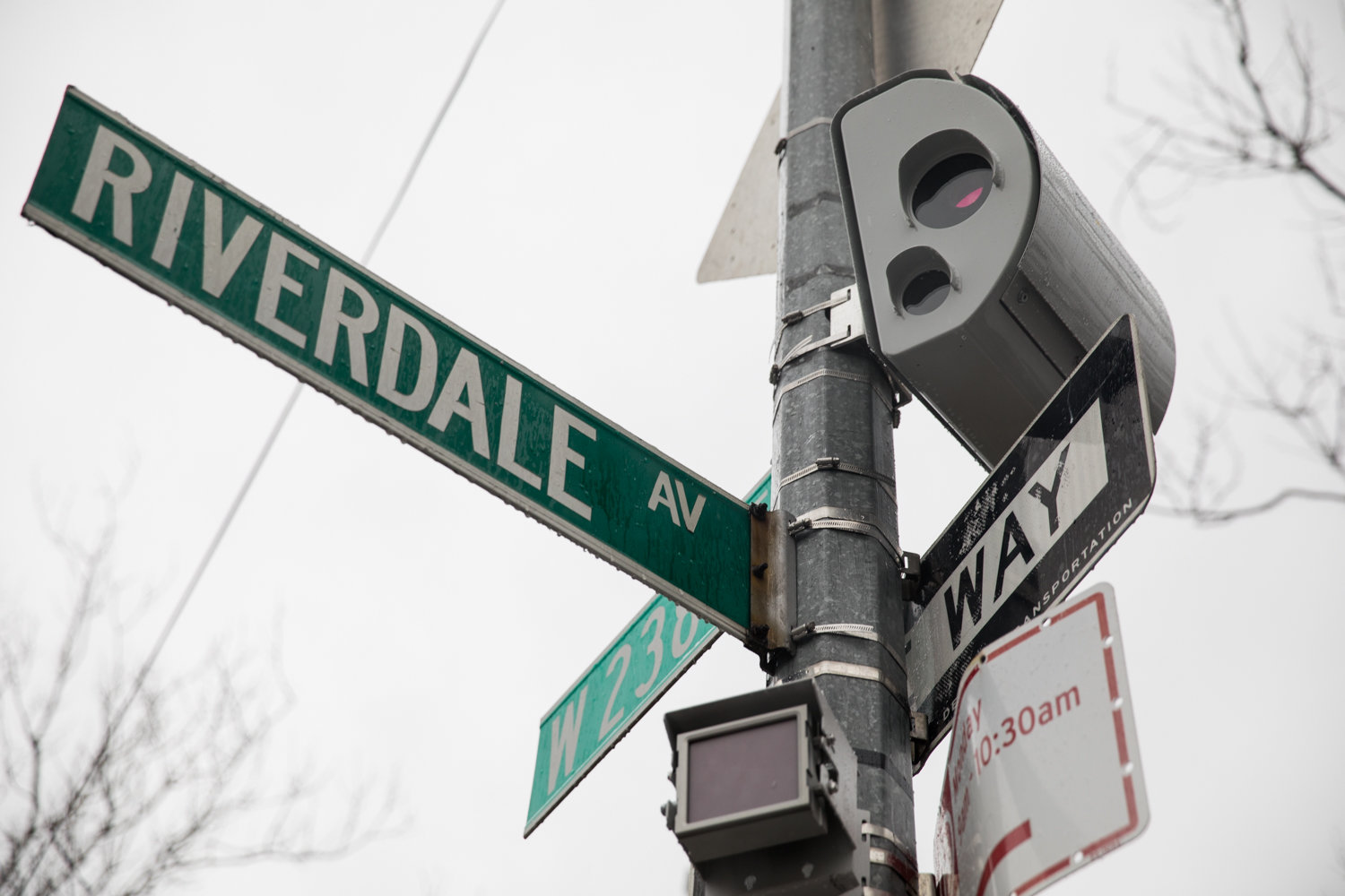 There's a new speed camera in town on the corner of West 238th Street and Riverdale Avenue, which has earned the ire of some drivers through that neighborhood.
