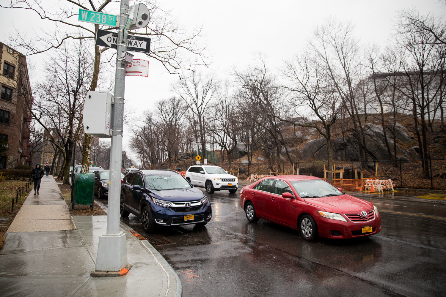 Drivers will have to exercise extra caution when making their way along Riverdale Avenue near West 238th Street because of a new speed camera mounted there.
