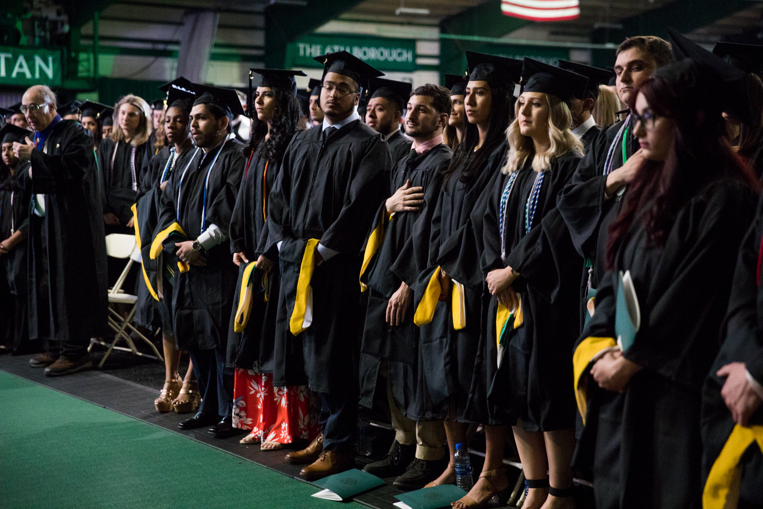 Last year's graduating class at Manhattan College had its share of hurdles to clear when it came to commencement — ultimately leading to U.S. Supreme Court Justice Sonia Sotomayor speaking — and it would appear the Class of 2020 is facing similar obstacles. With three months to go until graduation, the school has yet to confirm a commencement speaker.