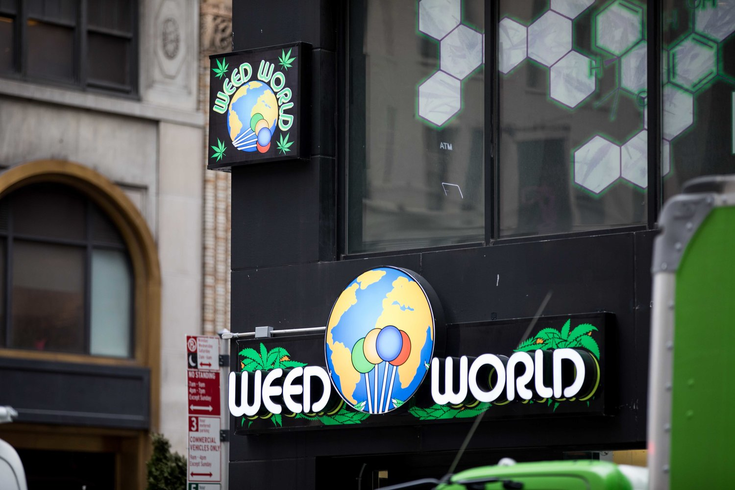Even though Weed World Candies doesn't sell marijuana — it sells CBD products and marijuana paraphernalia — it does advocate for the legalization of the plant, which could very well happen in New York as early as this year.