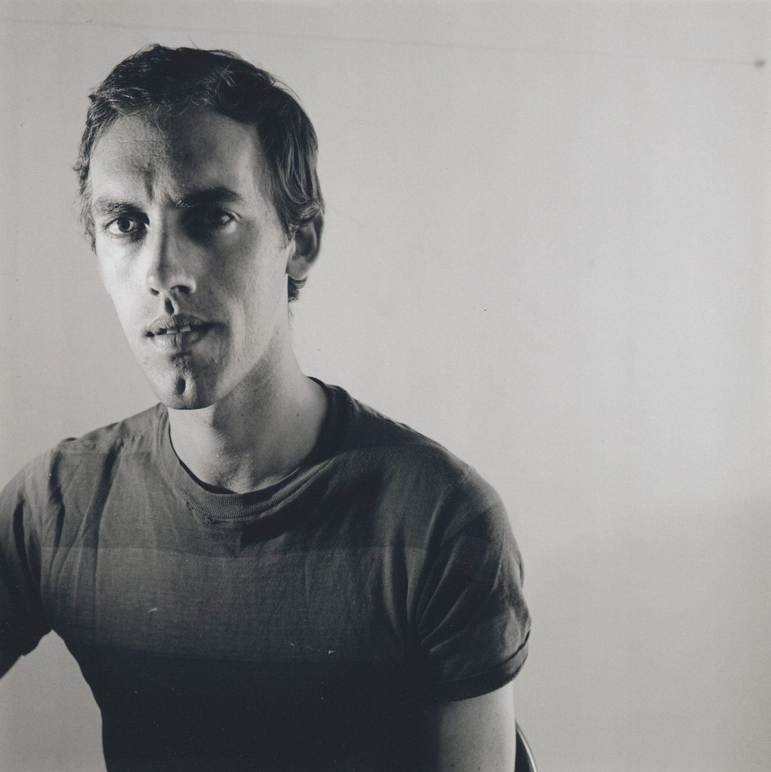 Many of Tim Greathouse's photographs are portraits of fellow artists, like this one of David Wojnarowicz.