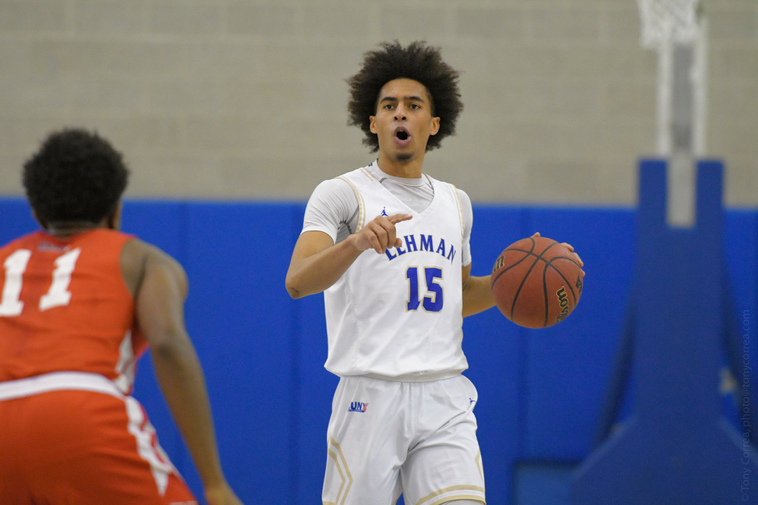 Lehman junior guard Gian Batista scored a team-best 23 points versus Baruch, but it wasn't enough to save the Lightning from a 70-57 season-ending loss to the Bearcats in the CUNYAC semifinals.