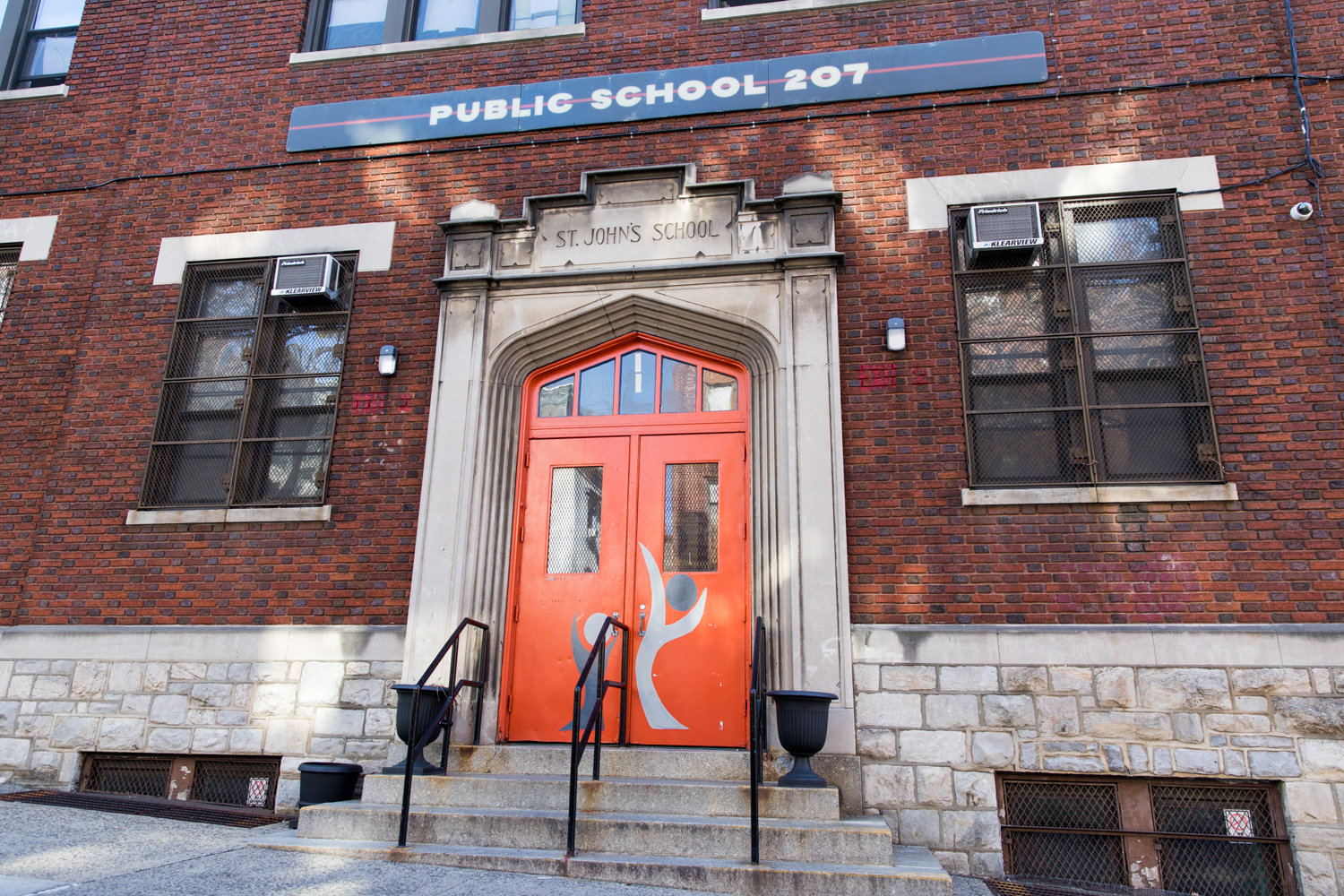 P.S. 207 is one among many school closures citywide following a press conference by Mayor Bill de Blasio in which he announced that schools would remain closed until at least April 20.