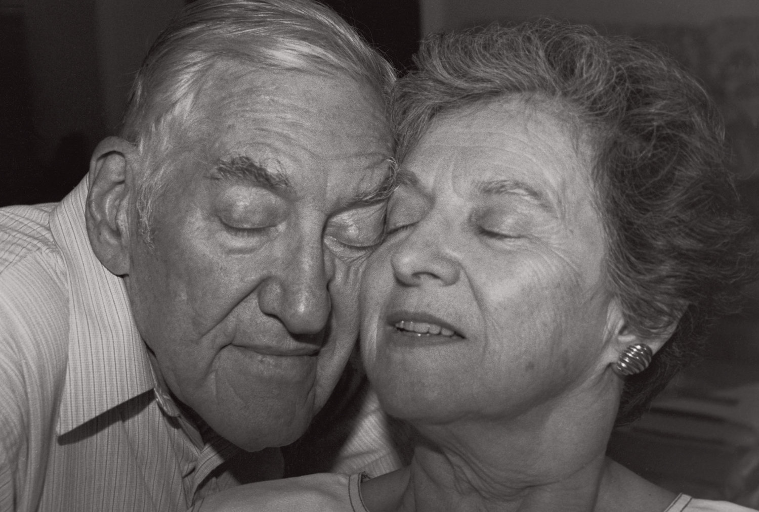 Robert Fass photographed Irwin and Evelyn for 'As Long As We Both Shall Live,' a portrait series of American couples who have been married 40 years. It's part of a display at The Riverdale Y's Gallery 18, originally scheduled to run through April, but currently closed because of the coronavirus crisis.
